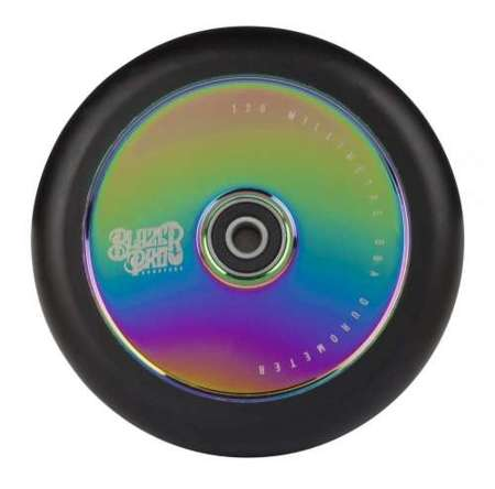BLAZER PRO SCOOTER WHEEL HOLLOW 120MM W/ABEC 11 NEO CHROME 120MM