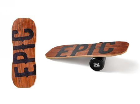 EPIC DARK OAK Balance Board + DYWANIK