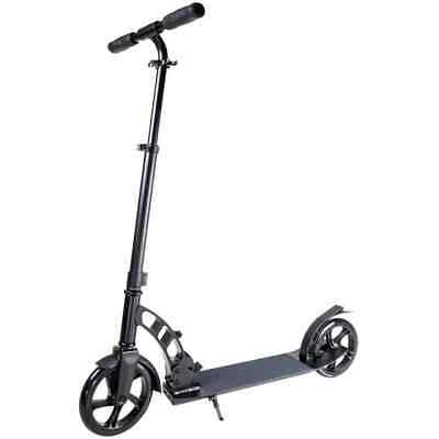 HULAJNOGA ATLANTIC METRO ADULT SCOOTER W/SUPENSION GRAPHITE