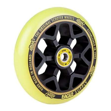 Koło EAGLE SUPPLY 6M CORE BLACK/YELLOW 110MM