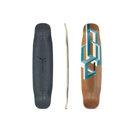 LOADED BASALT TESSERACT DARK BLUE DECK