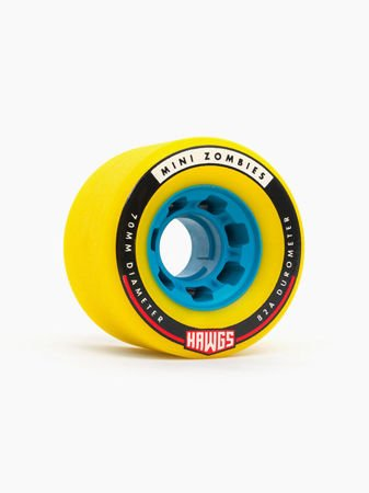 MINI ZOMBIES 70mm82a yellow