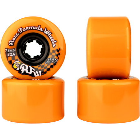SECTOR 9 RACE FORMULA 73MM 82A ORANGE CS