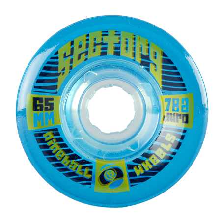 SECTOR 9 TOPSHELF 65mm 78a CS BLUE